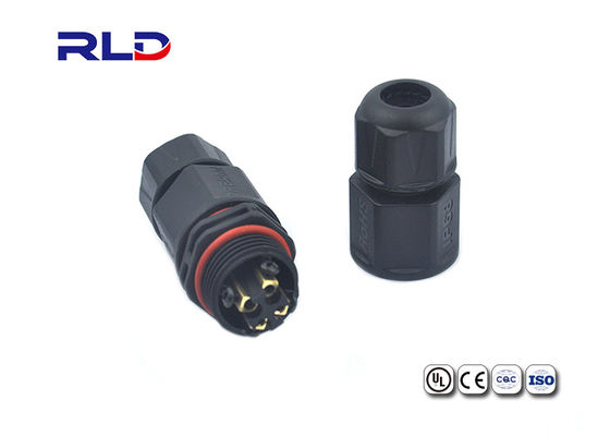 Outdoor LED Screen Cable Waterproof Led Connectors 2-4 Pin IP68 Connector