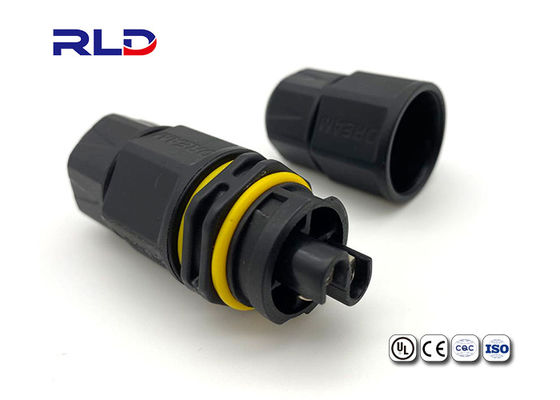 Wire to Wire Cable Waterproof Electrical Wire Connector Plug For Industrial